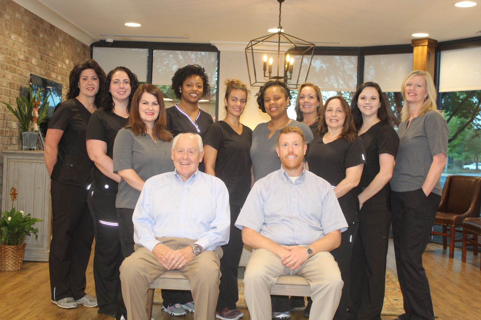 Dr. Tully and his dental team